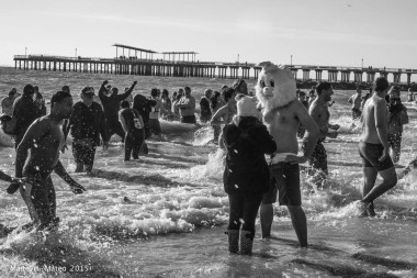 Coney Island Polar Bear Club New Year's Day Swim